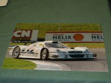 "MERCEDES-BENZ CLK-LM Webber/Schnieder 12x8"" photo Donington FIA GT 1998"